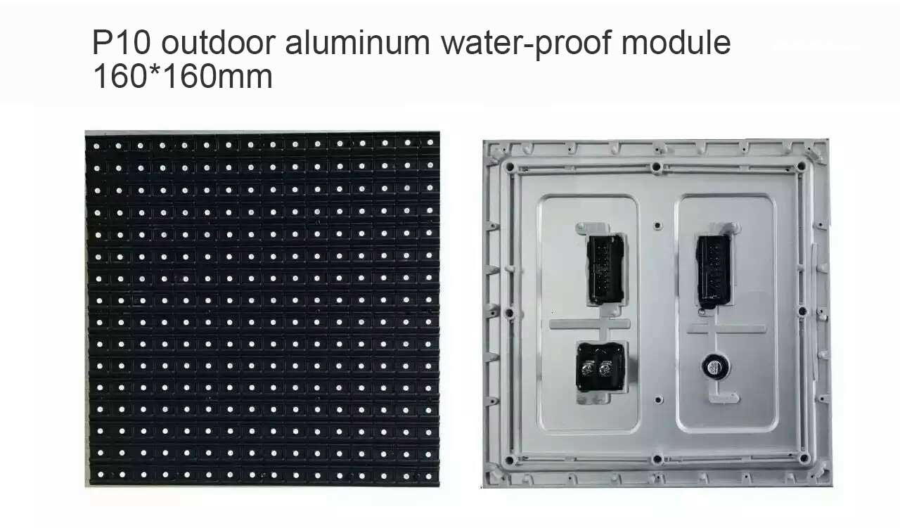 P10 IP67 outdoor SMD LED display module