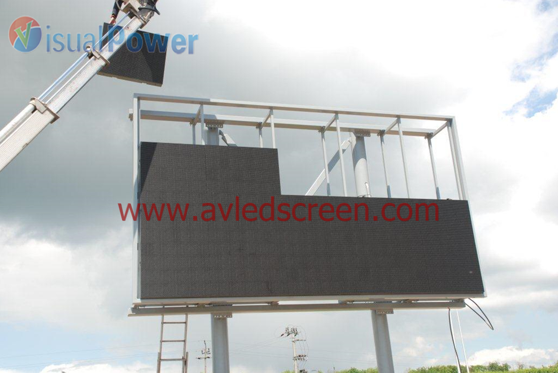 P16 outdoor score board led display (2)