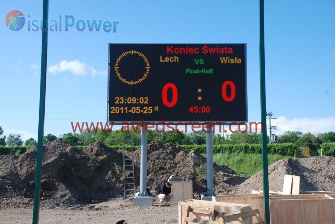 P16 outdoor score board led display (4)
